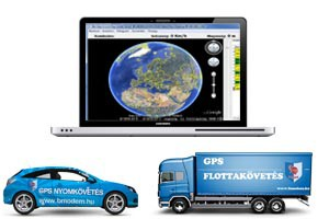 GPS Nyomkövető, Flottakövető  rendszer - BM GPS PRO3